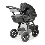 Коляска trio activ3 with kit car grey 0м+ Chicco